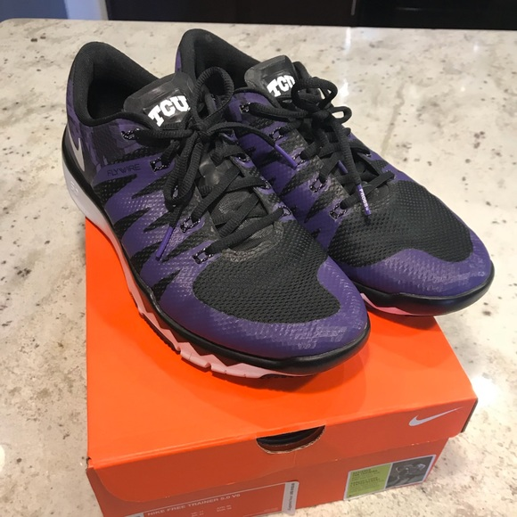 the latest 877d4 30c8c TCU Nike Free Trainer 5.0 Running Shoes 11.5